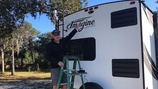 Haloview MC7108 Wireless RV Backup Camera Install & Review For Our Grand Design Imagine