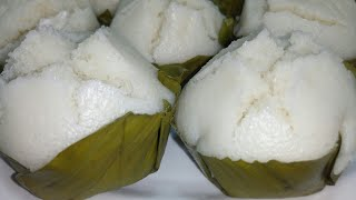 How To cook Puto na Bigas (Putong Bisaya)