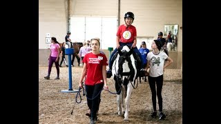 EQUINE THERAPY: improving the lives of children and adults with disabilities
