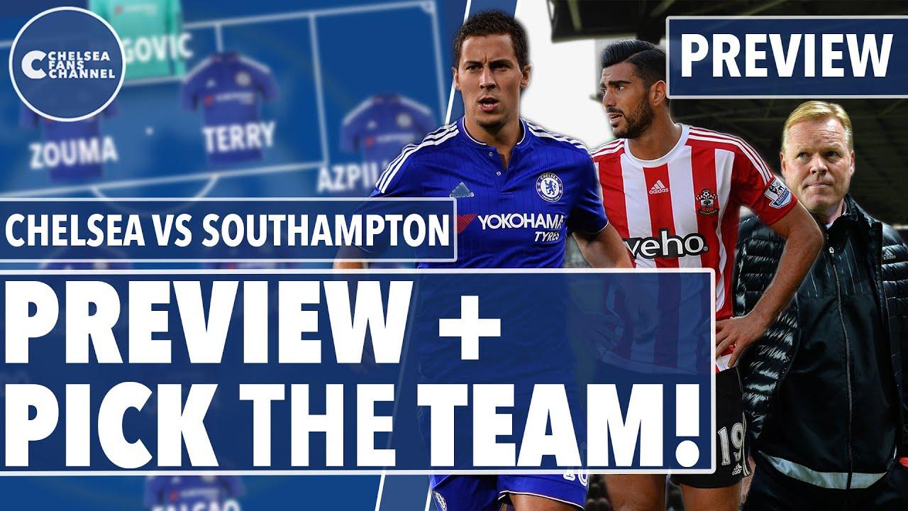 Chelsea Vs Southampton PREVIEW + PICK ...