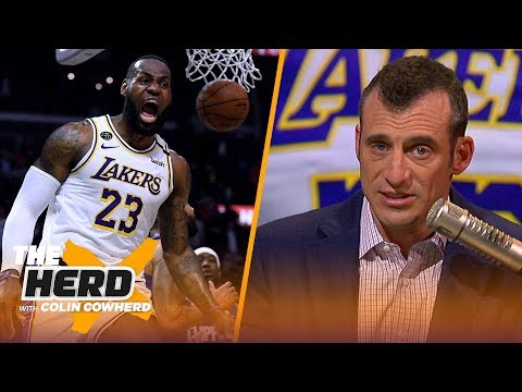Why LeBron's last 2 games were reminiscent of Michael Jordan — Doug Gottlieb | NBA | THE HERD