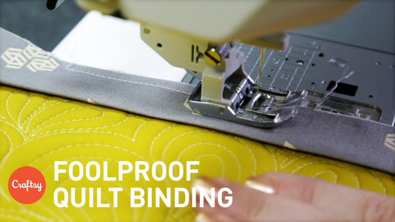 Tutorial: machine quilt binding | quilts and other patchwork stuff.