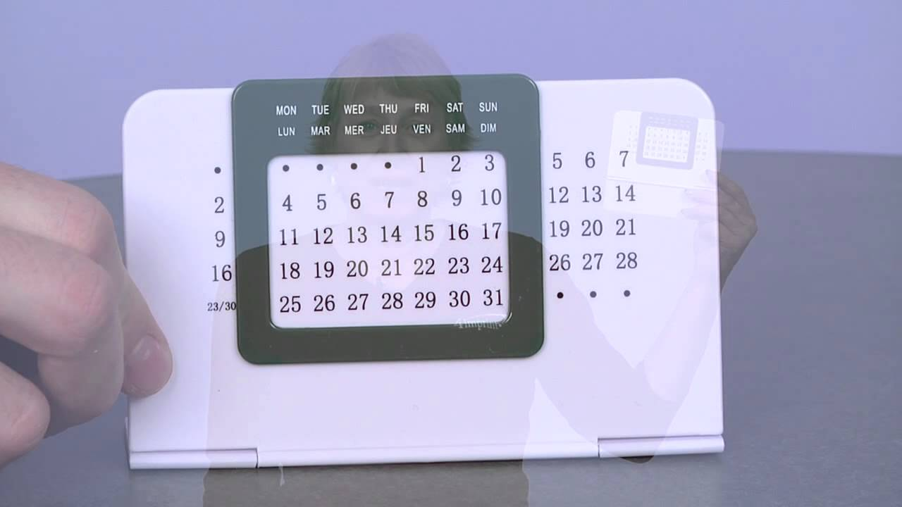 personalized perpetual desk calendar promotional calendars by