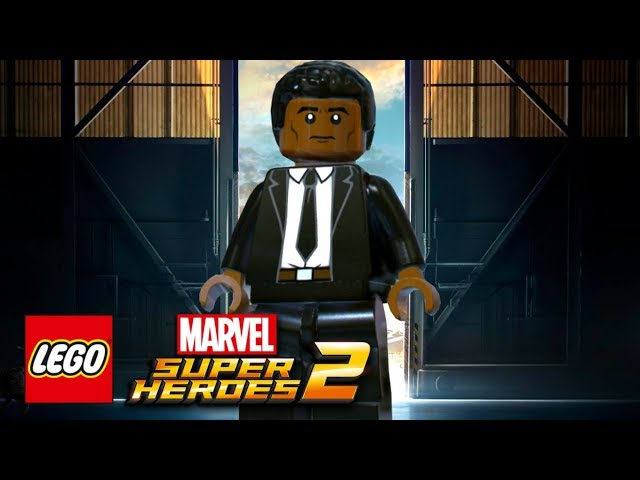 LEGO Marvel Super Heroes 2 - How To Make Young Nick Fury (Marvel Studios Captain Marvel)