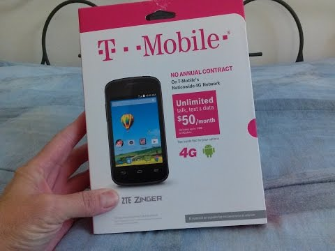 zte-zinger-t-mobile-unboxing-review---zte-zinger-smartphone---low-cost-&-good-performance