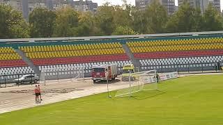 Металлург - Торпедо - 0:0. Фанаты Торпедо поют