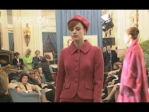 LUISA BECCARIA Fall Winter 1996 1997 Milan - Fashion Channel