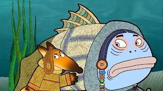 Гора самоцветов - Похождения лиса + Про собаку Розку - Развивающий мультфильм для детей  - сказки HD