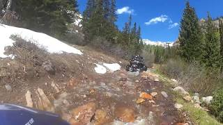 RZR 1000 and Wildcat X Playing in Mineral Basin Spring Run Off June 7, 2017