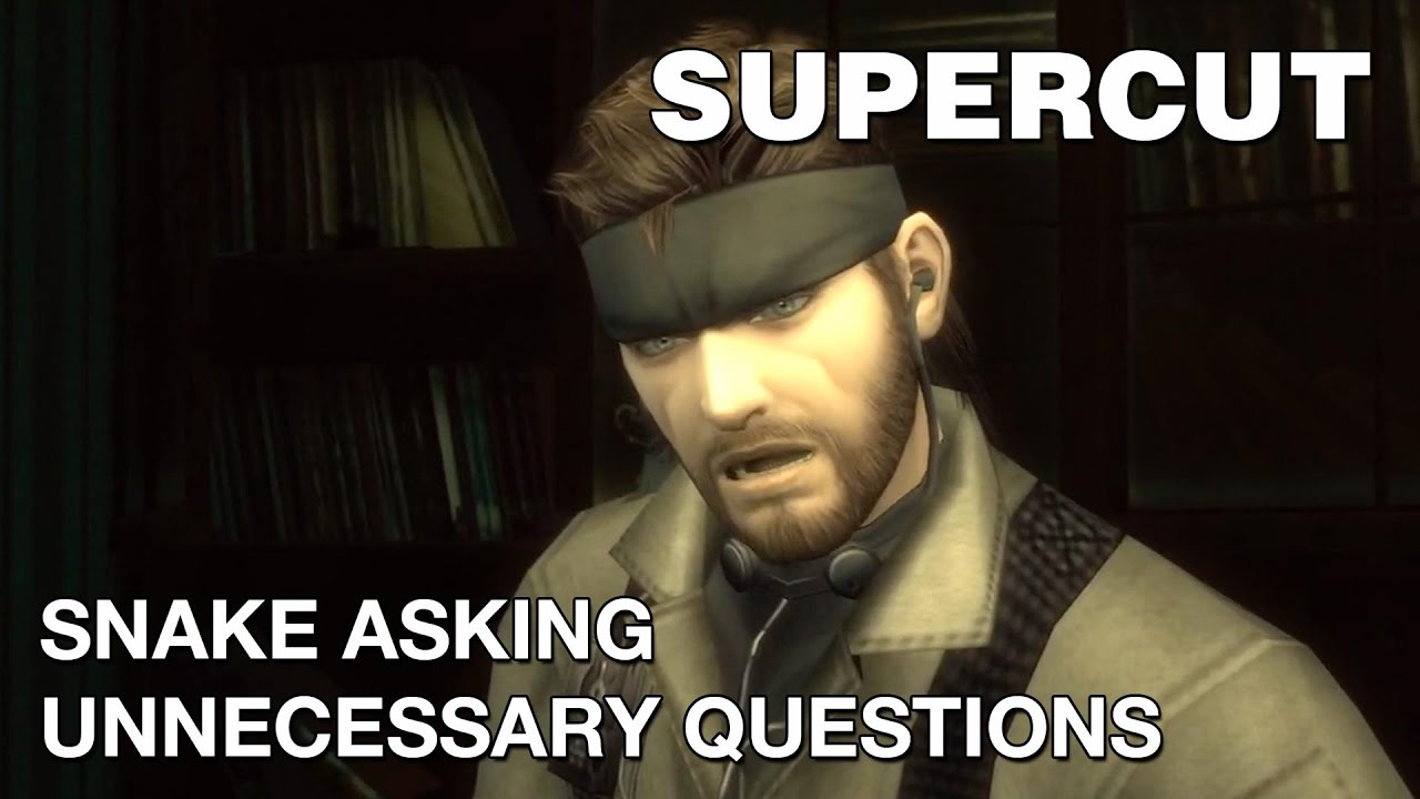 Funny Meme Questions : Supercut snake asking unnecessary questions youtube
