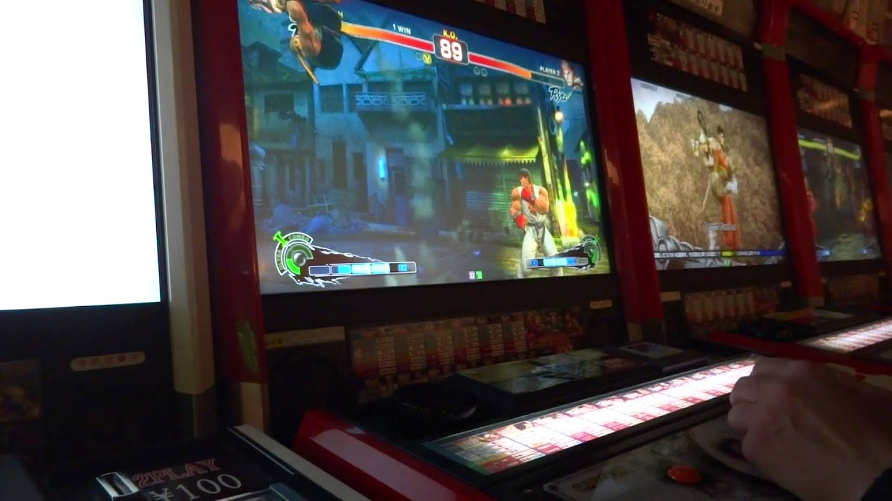 Fum Plays Street Fighter 4 In A Japanese Arcade & Fum Plays Street Fighter 4 In A Japanese Arcade - YouTube