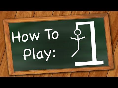 How To Play: Hangman