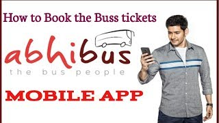 How to Book Bus Tickets Online through Abhibus Mobile App screenshot 2