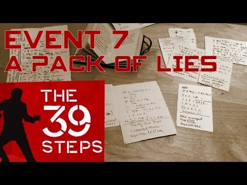 The 39 Steps  Event 7: