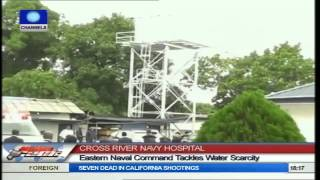 Navy Hospital Calabar Commissions Water Project