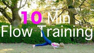 【毎日10分楽ちん】筋トレもストレッチも全身10分で済ますなら|Flow muscle training & Stretch|ストレッチルーム|092