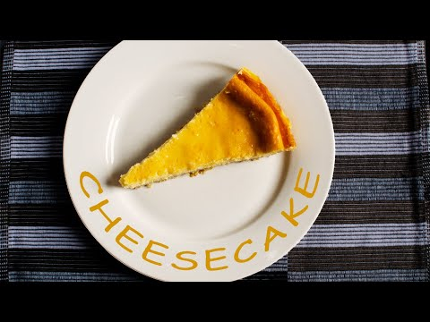 Cheesecake With Oat Crust