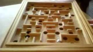 Classic Wooden Labyrinth 60holes Completed 1min25sec