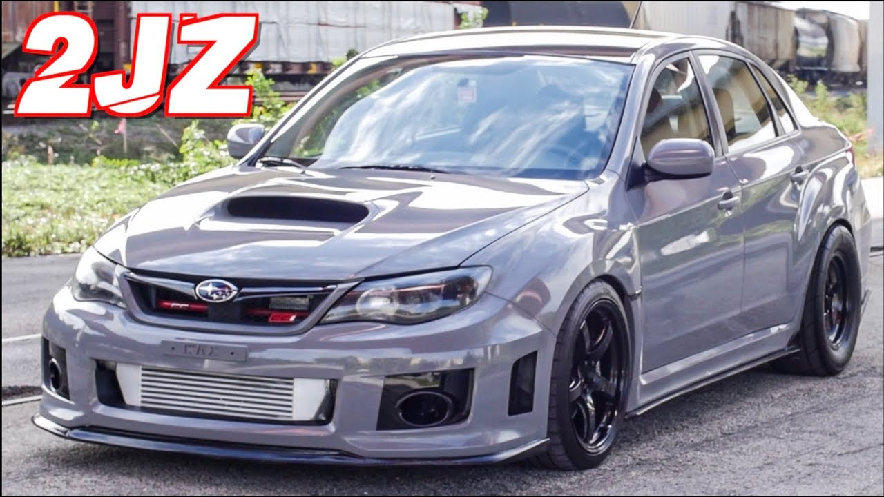 "2JZ Subaru WRX ""SupraRu"" 900HP Street Pulls - Better Than the EJ25?"