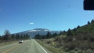 Дальнобой по США. Hwy 97 California - Washington. (Сериал - март).