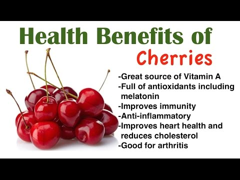 10 Health Benefits of Cherries