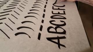 Hand Lettering Practice