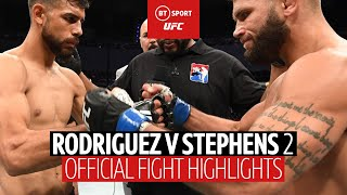 Yair Rodriguez vs Jeremy Stephens (UFC Boston) fight highlights | Fight of the Year contender!