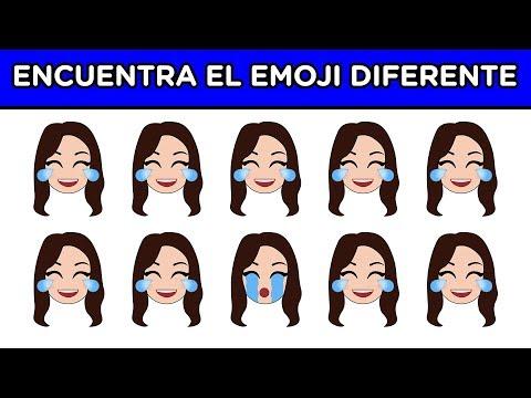 ENCUENTRA EL EMOJI DIFERENTE EN 10 SEGUNDOS | ES MUY DIFÍCIL | YOU OCIO