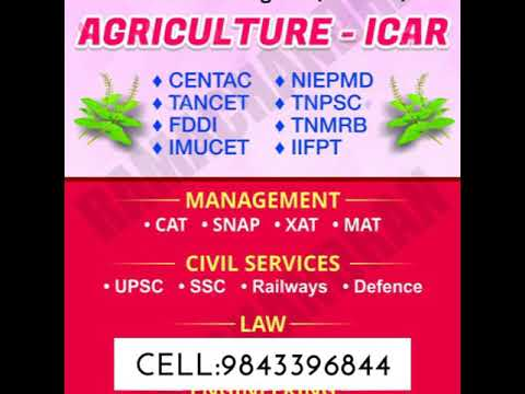 How to choose the best Agriculture course in Tamilnadu