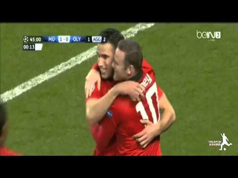 Manchester United vs Olympiakos 3-0 All Goals & Highlights 2014 HD
