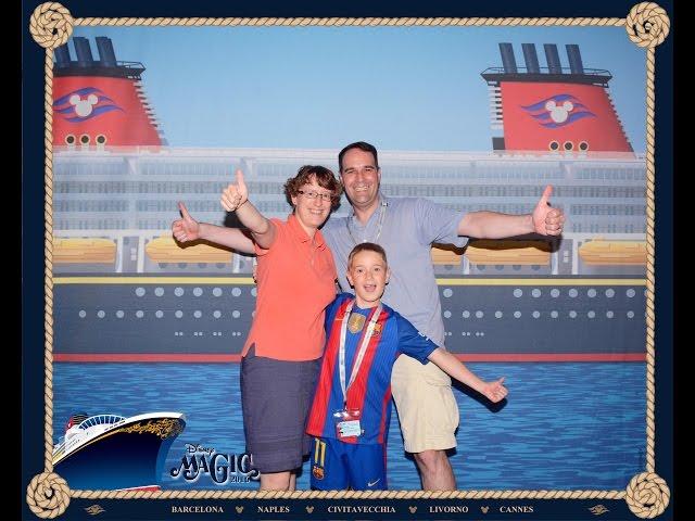 Disney Cruise Line Magic - The Sigifamily on the Disney Mediterranean Cruise