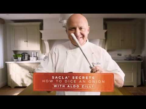 How to: Dice an Onion with Aldo Zilli