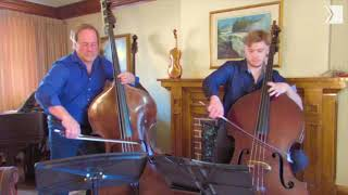 TSO Double Bass Paul Rogers doubles up with son Shaun for a world première duet