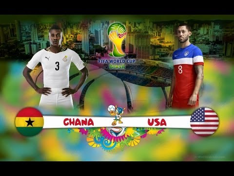 USA vs Ghana 2-1 All Goals & Highlights World Cup 2014 (HD)
