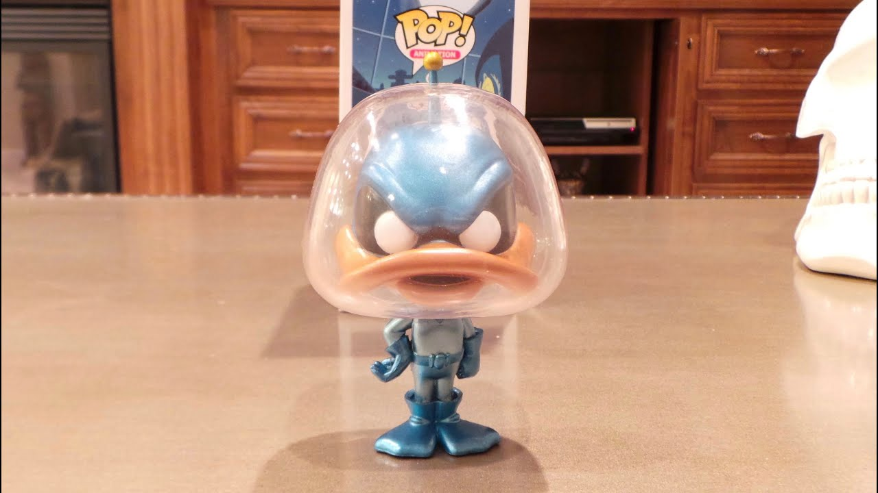 Duck Dodgers Metallic Limited Chase Edition Animation: Duck Dodgers Funko POP