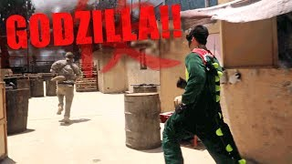 GODZILLA Hunger Games - Get Out and Play - Episode 6 - (Airsoft GI Gameplay)