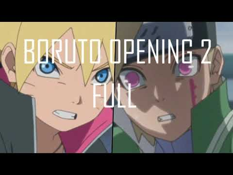 Boruto Opening 2 Full(Little Glee Monster - OVER) HQ