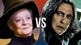 VS | Minerva McGonagall vs Severus Snape