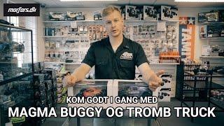 Kom godt i gang med Magma Buggy og Tromb Truck - WL Toys - Fjernstyrede biler