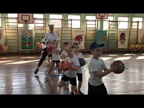 Спортивный танец Старшая группа Веселые старты Детский сад № 295