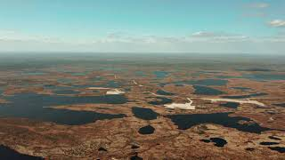 Тундра - Аэросъемка | Восхитительная природа севера.