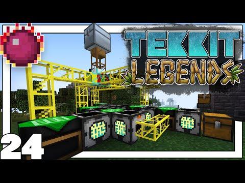AUTOCRAFTEOS - SOLAR PANEL   Minecraft   TEKKIT LEGENDS #24