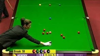 Stephen Hendry - the greatest Snooker player of all time!!