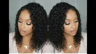 Get into this gorgeous curly 360 lace front wig! Also, wth is going on with America, chile?