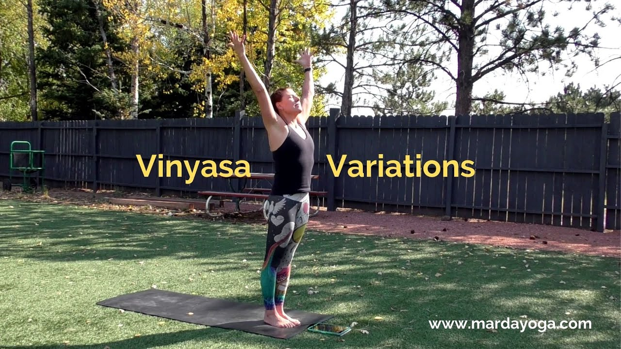 Try out these five vinyasa variations and re-ignite your breath