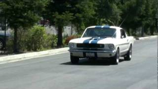 Ryan K. driving the 1965 Shelby GT350 Mustang