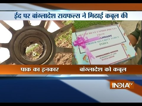 Pakistani Army Refuse To Accept Sweet Sent By BSF Soldiers On Eid | India Tv