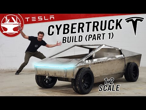 CYBERTRUCK BUILD (Part 1: The Body)
