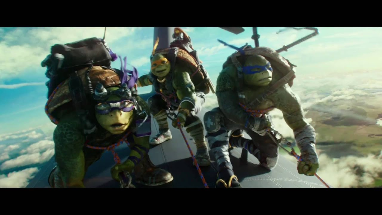 Ninja Turtles: Out Of The Shadows | Clip - Airplane Jump