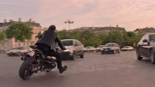 Mission Impossible Fallout (2018) |Movie Scene| Tom Cruise's Dangerous Stunts in Bike